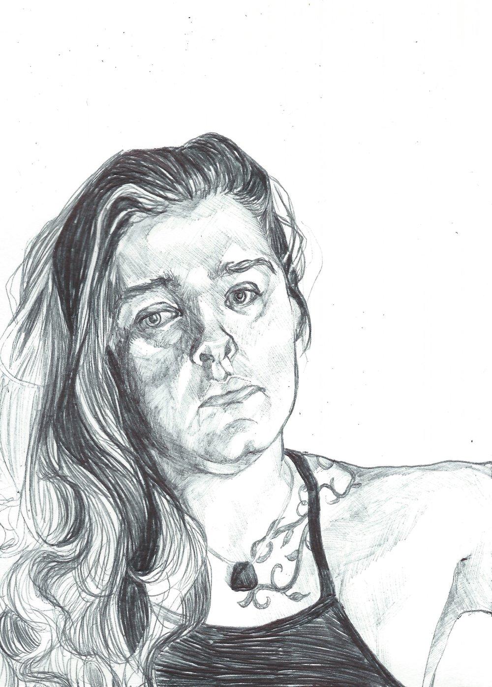 sketch of my sister Sophie