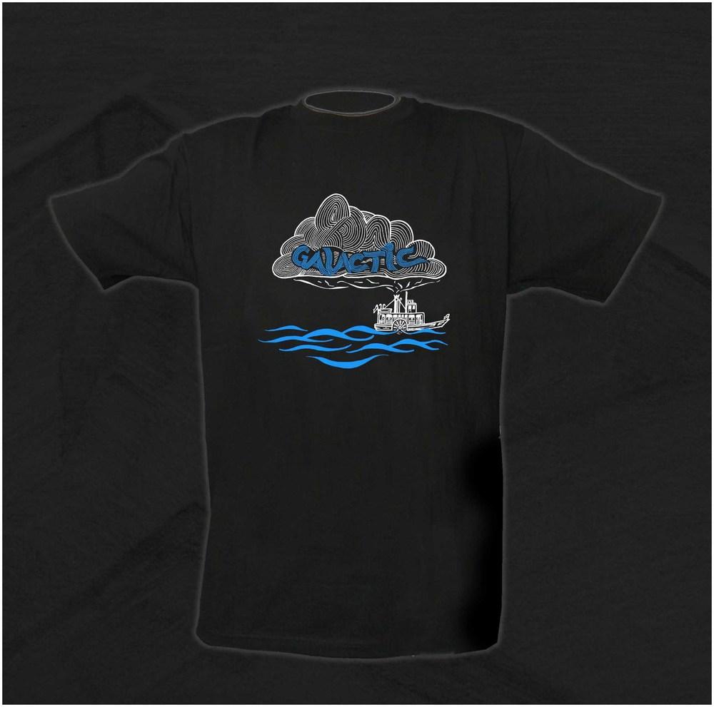 Galactic Funk. New Orleans, LA. T-Shirt Design