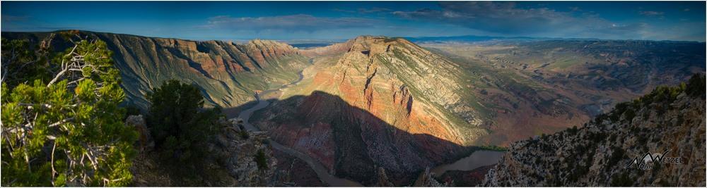 Ruple Point Panorama. Dinosaur National Monument, Colorado