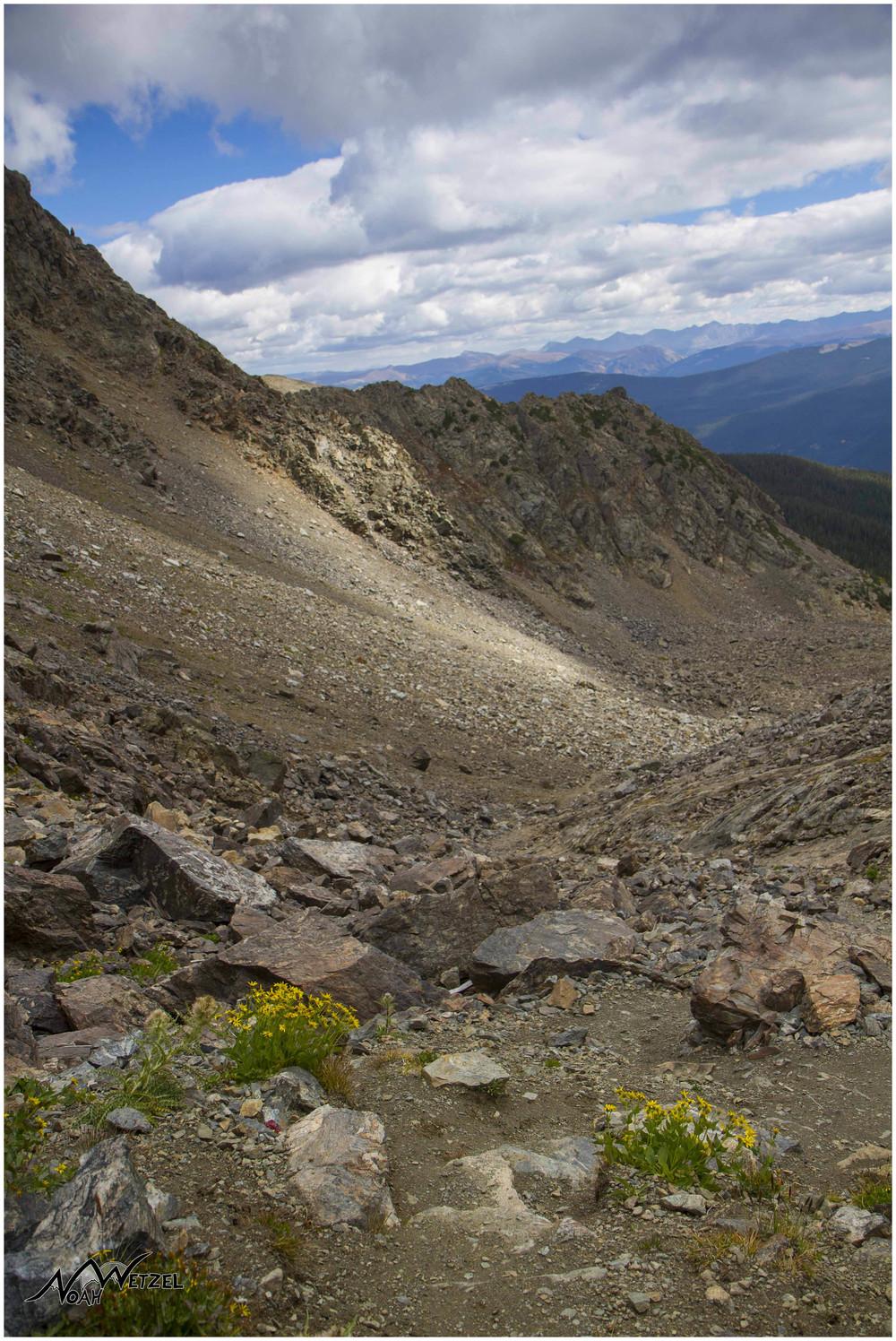 Fancy Pass. Holy Cross Wilderness. Colorado