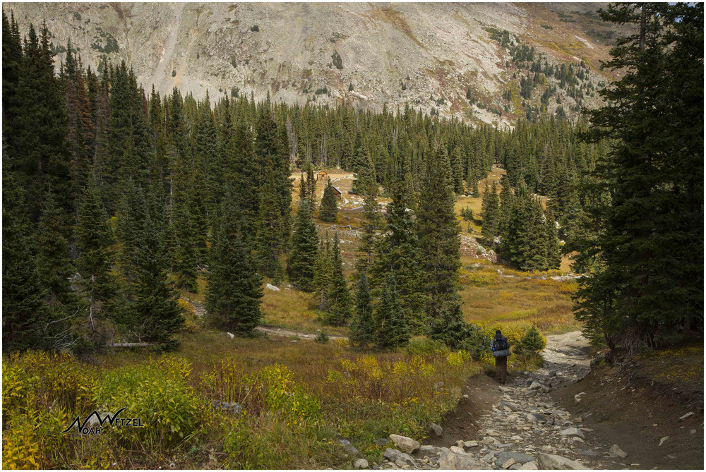 Approaching Holy Cross City. Holy Cross Wilderness, Colorado