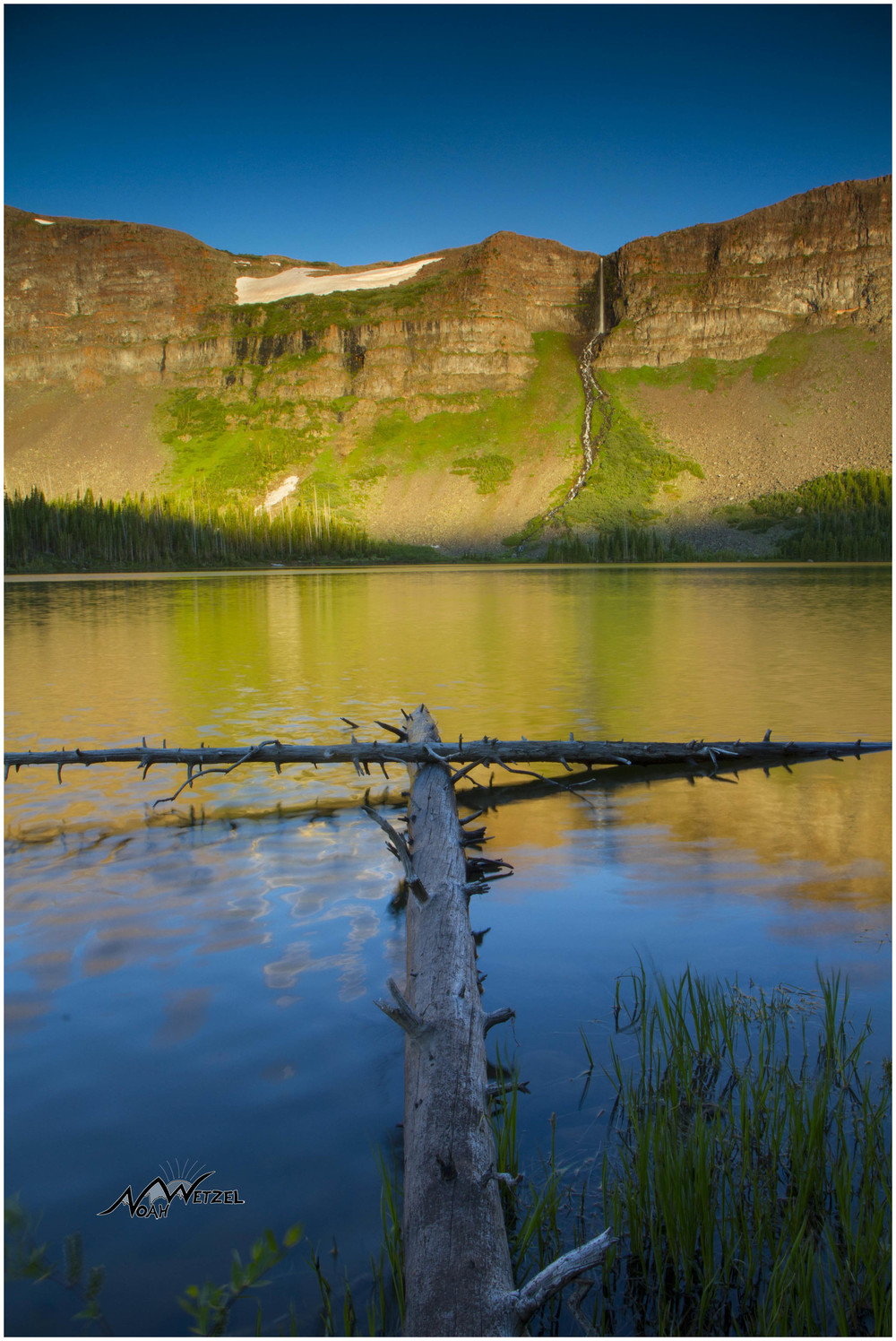 Keener Falls. Flat Tops Wilderness