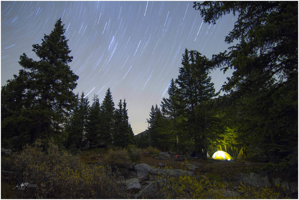 Camping at Lake Constantine. Holy Cross Wilderness