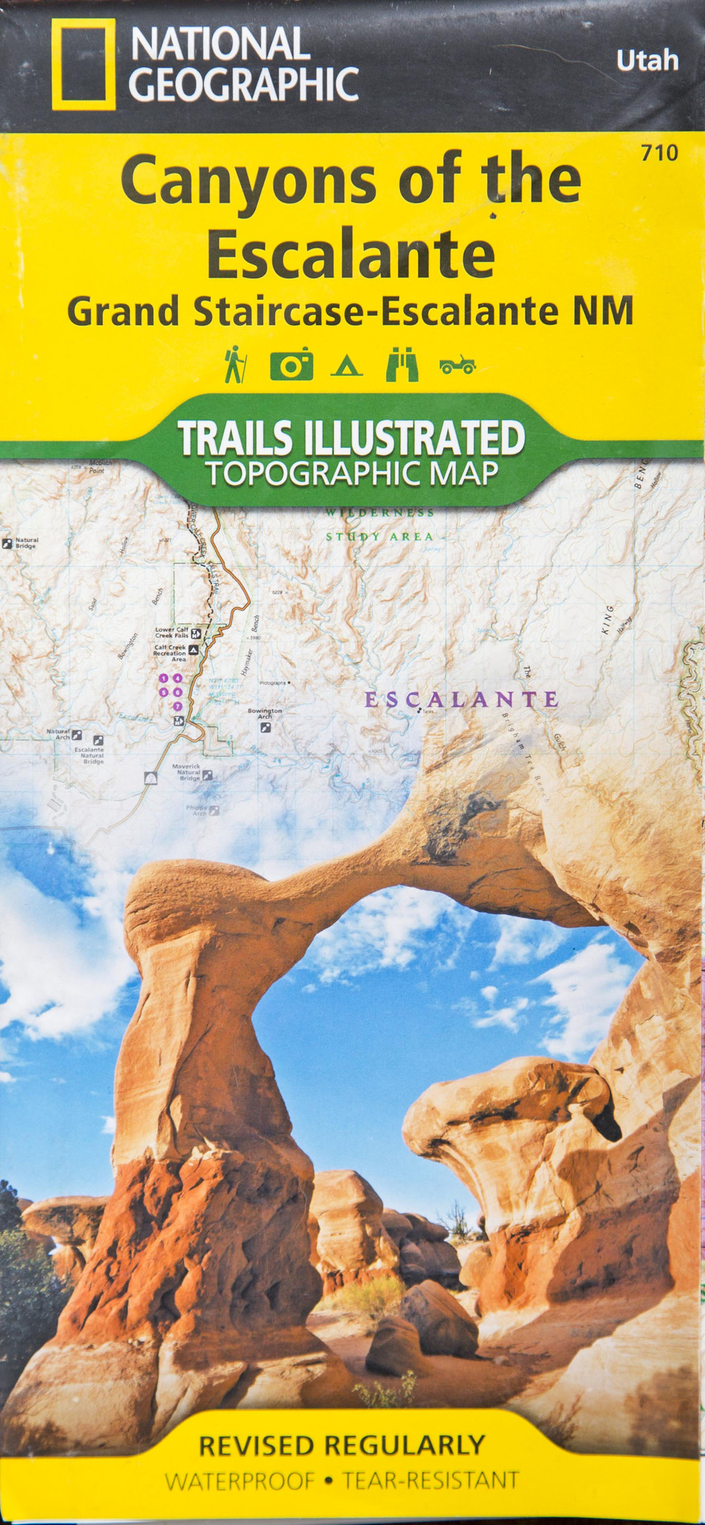 Canyons of the Escalante Map