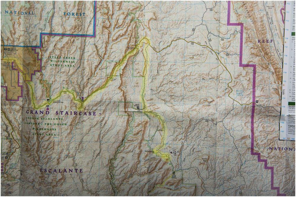 Burr Trail Rd. Wolverine Rd. Escalante, Utah