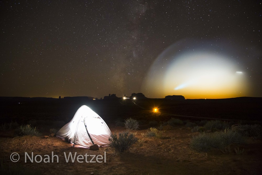 Nuclear Missile Test November 9th, 2015. Monument Valley, Arizona