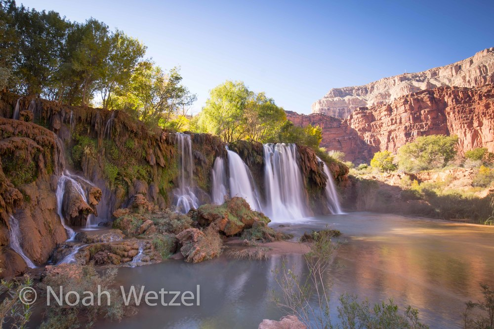 Hidden Falls. Supai, Arizona