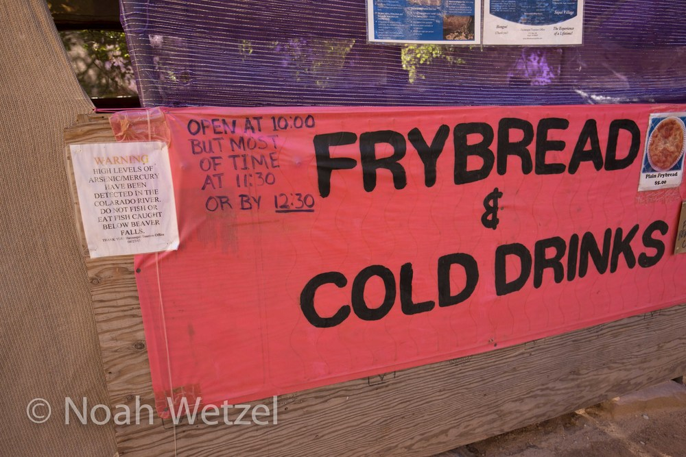 One of the best signs ever...Supai, Arizona