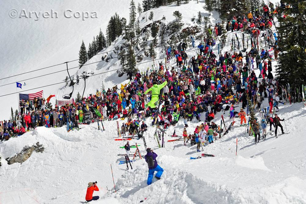 The 2016 Frank World Classic Ski Competition at Alta Ski Area!