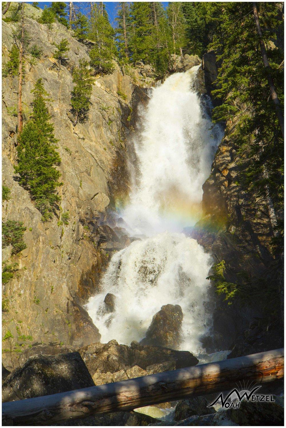 Fish Creek Falls. Steamboat Springs, Colorado