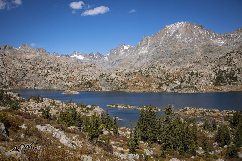 Island Lake. Wind River Range. Wyoming