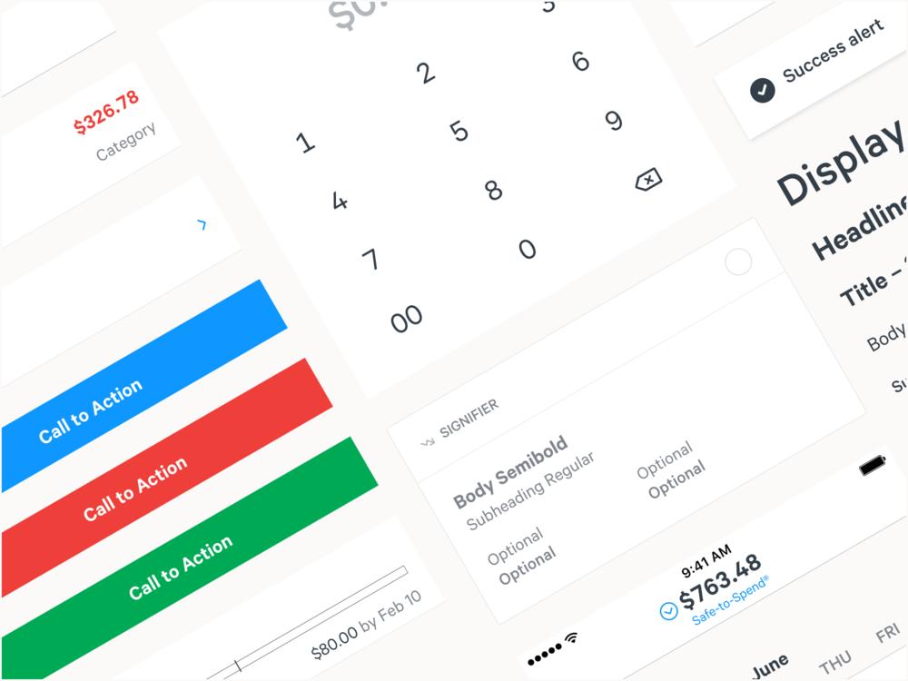Simple Finance  - Design System