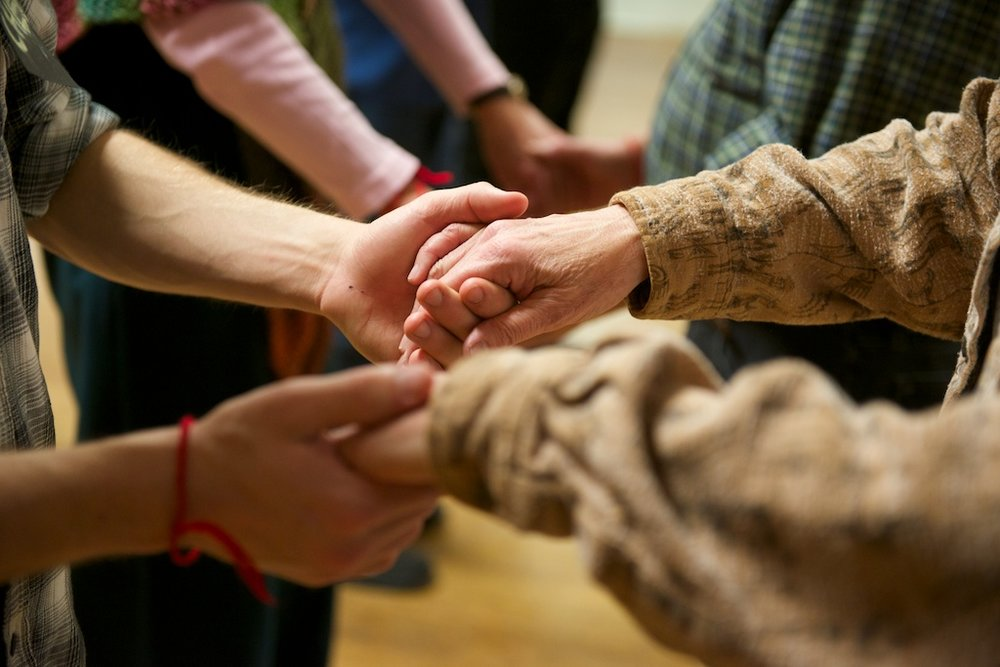 """""""Art programs help veterans create new memories,""""  Creative Exchange, October 2017  (photo by John Nation, courtesy of Dancing Well: The Soldier Project)"""