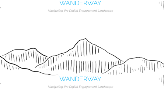 """""""Wanderway teaches how to use digital media creatively and ethically,""""  Creative Exchange, January 2017"""