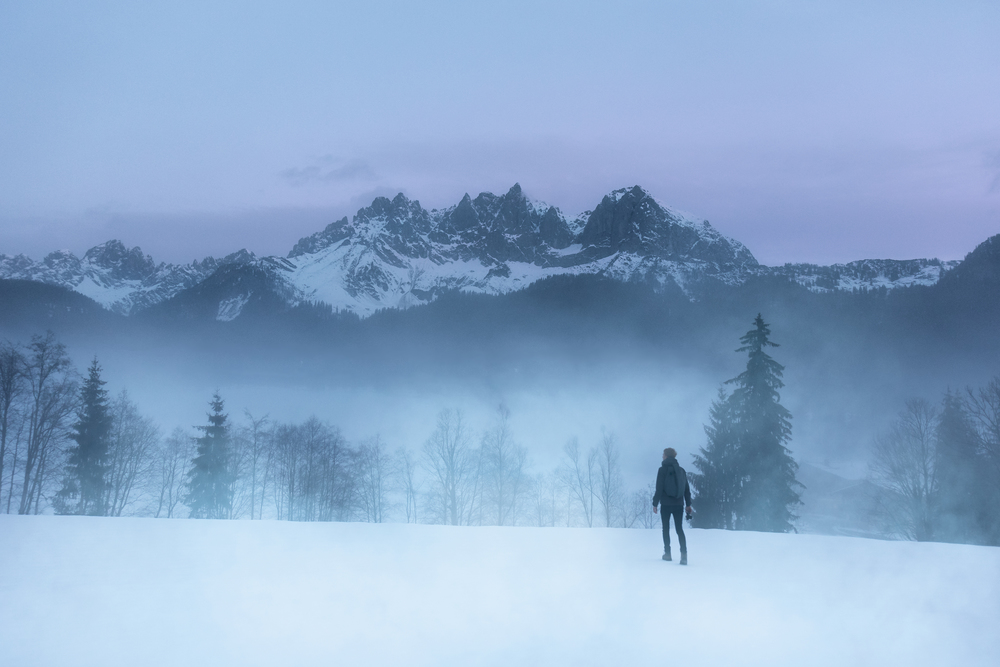 Shot in Austria in February 2016. This is the Ziller valley in Tirol on a foggy morning.