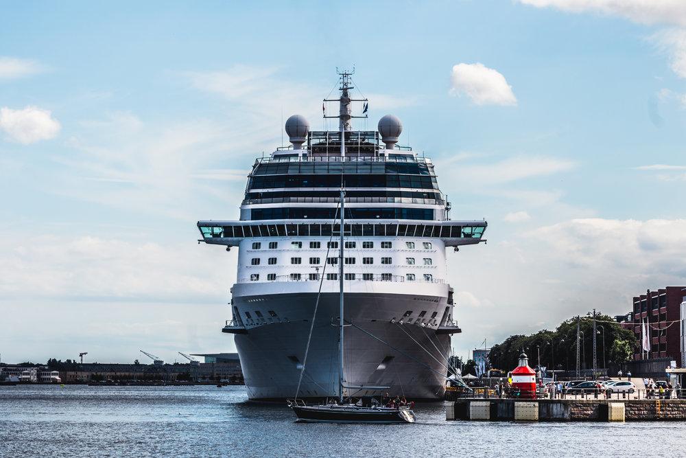 Langelinie Cruise Ship