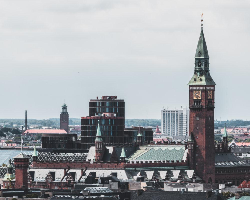 Double City Halls