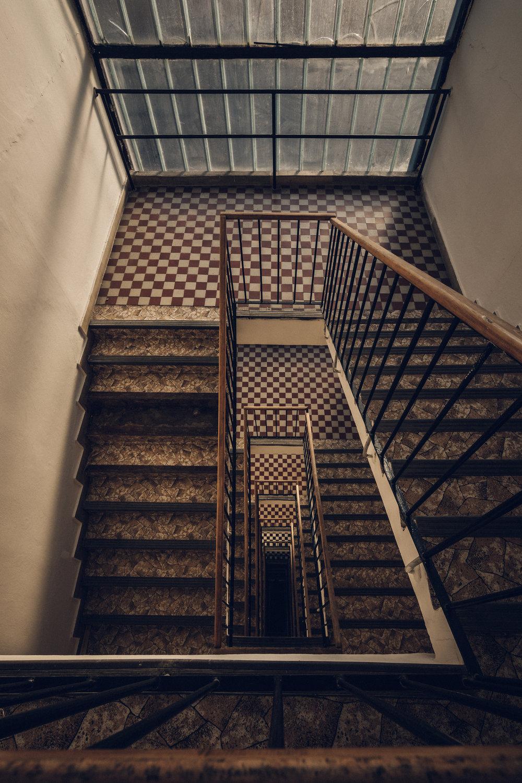 Hotel Stairwell, Ostrava
