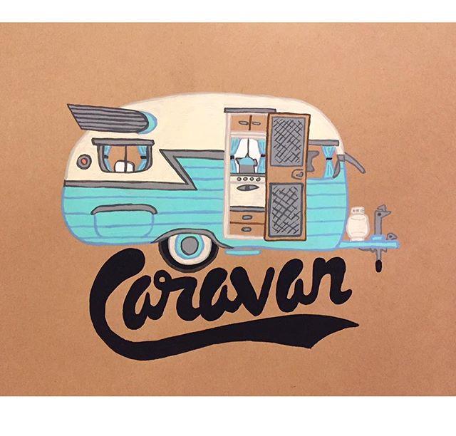 Caravan . . . . . #illustration #drawing #art #artist#illustrator #artoftheday #draw #sketch#sketchbook #instart #inktober#inktober2018 #instalike #instagood#instafollow #karlmaxx #follow #graphic #gouache #caravan