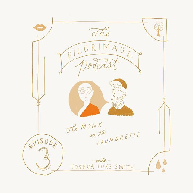 This week, we talk about the story we were each born to tell and address the voices that try to silence and dumb us down. Oh, we also cover unperceived existence and that time I met a monk in the laundrette... Link in bio or search my name of iTunes Podcast! ✏️ Illustration by my dear friend and long time collaborator #Podcast #illustration #pilgrimage