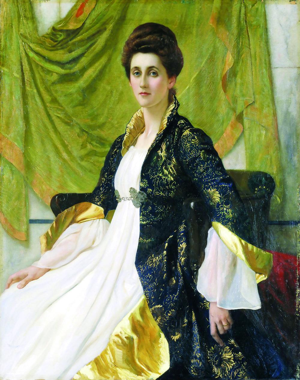 Portrait of Mrs Ernest Moon, 1888