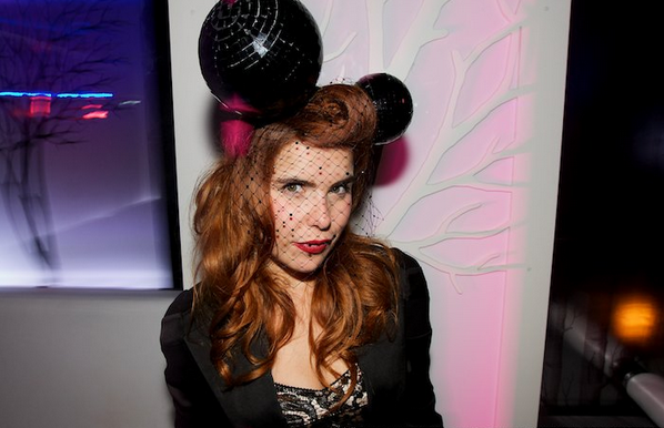 Paloma Faith party perfect in a pair of our Disco Micky Ears at the press launch of 'I Know What You Did Last Night'.