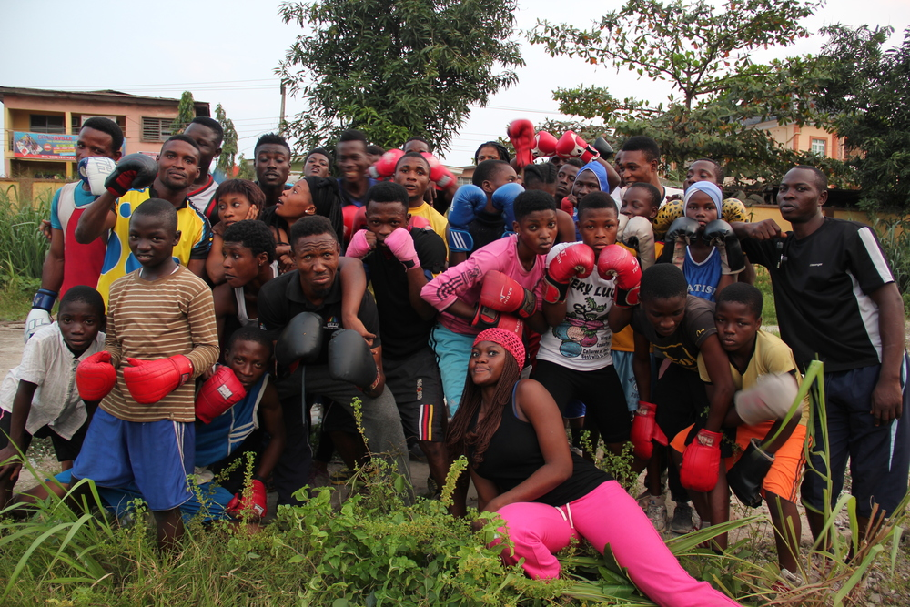 Crown Troupe & Boxing Team Bariga.JPG