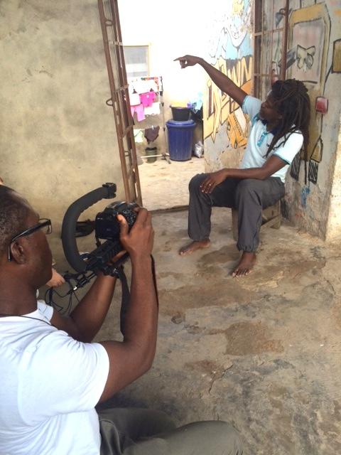 Filming Segun.JPG