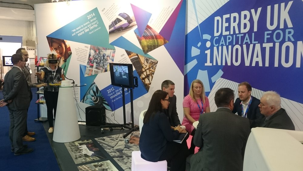 Team Derby, an esteemed group of local business leaders, represents Derby at MIPIM UK