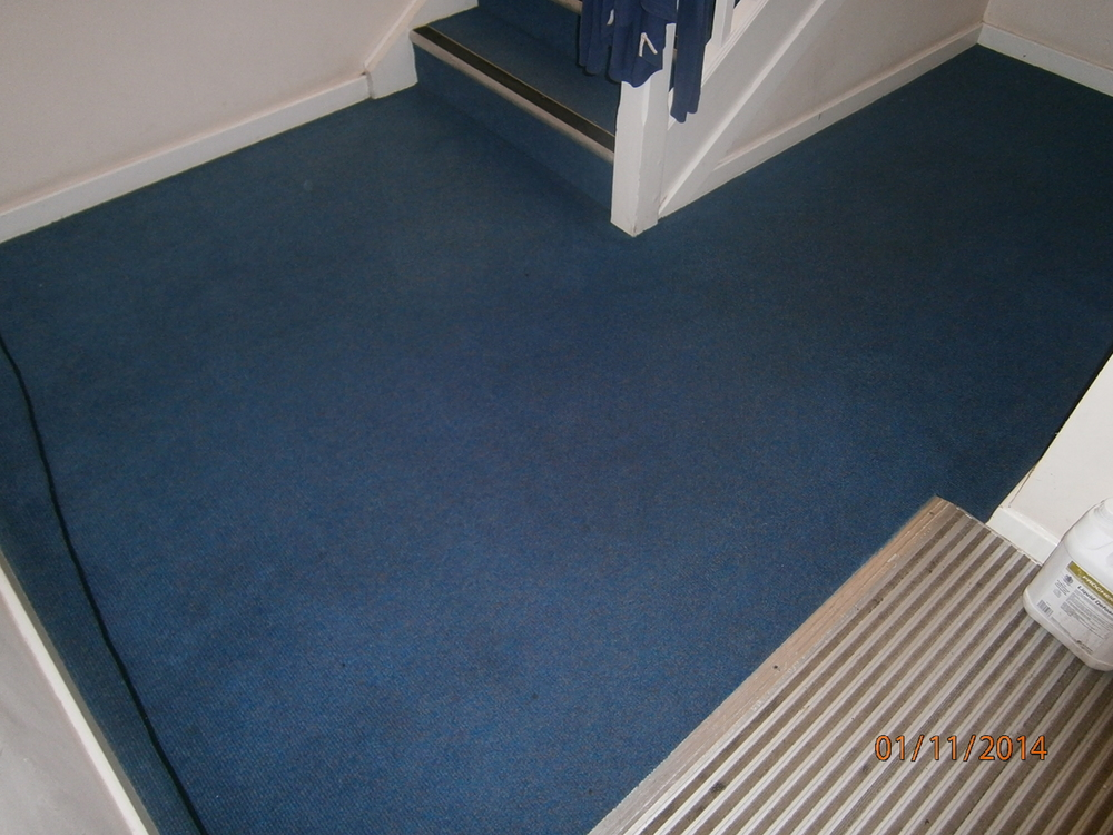 communal area carpet cleaned