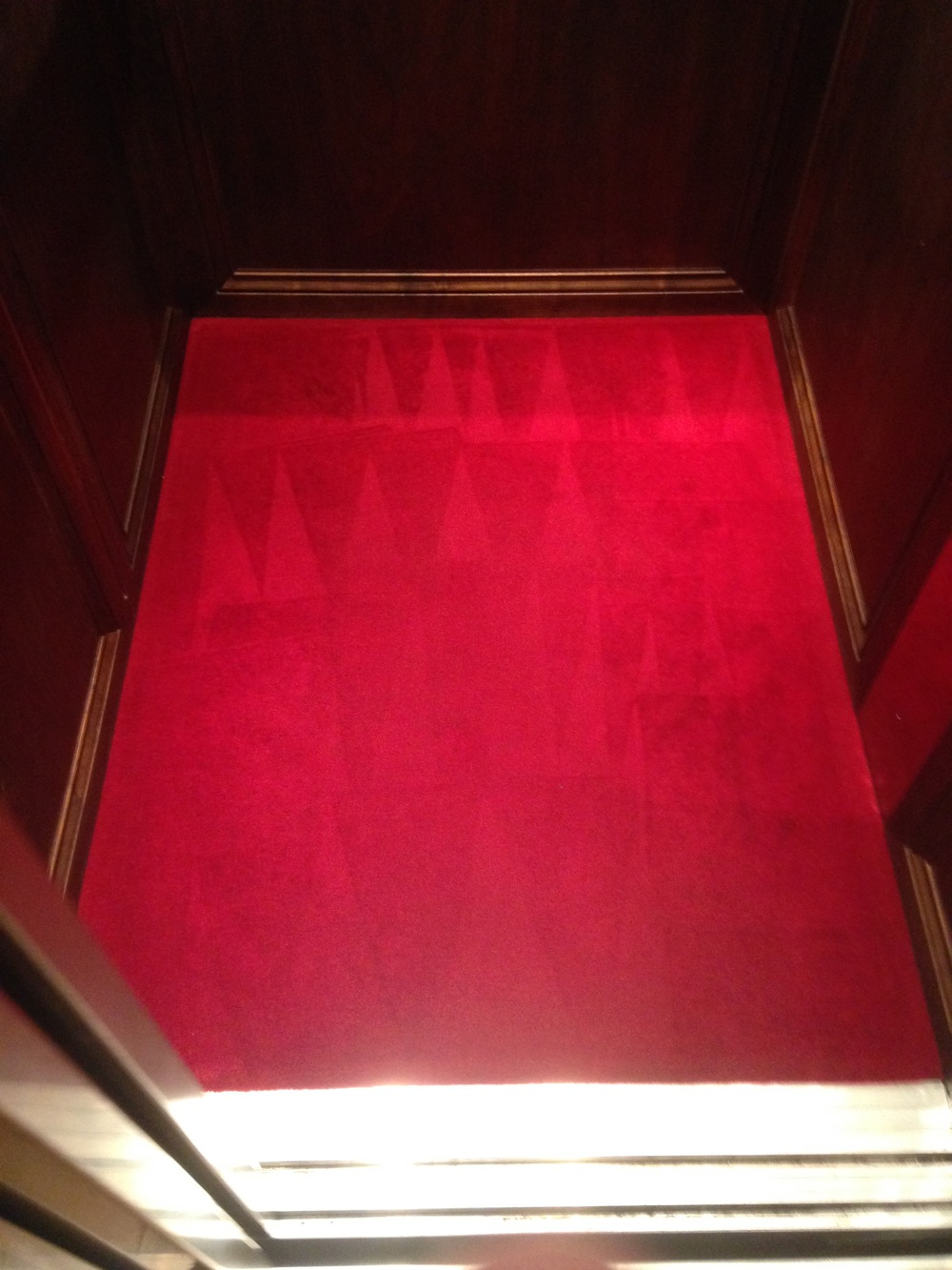 clean carpet in the lift.jpg