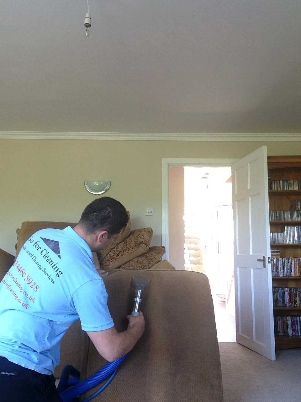 sofa steam cleanining in Chiswick.JPG