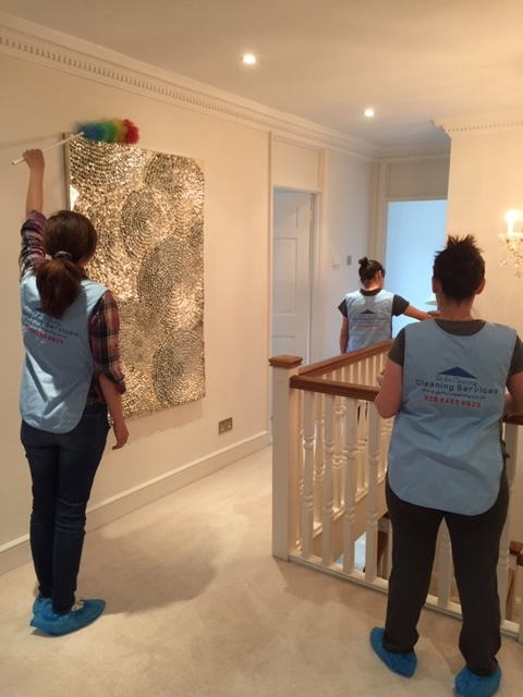 team of cleaners for moving out in  Chiswick, W4.JPG