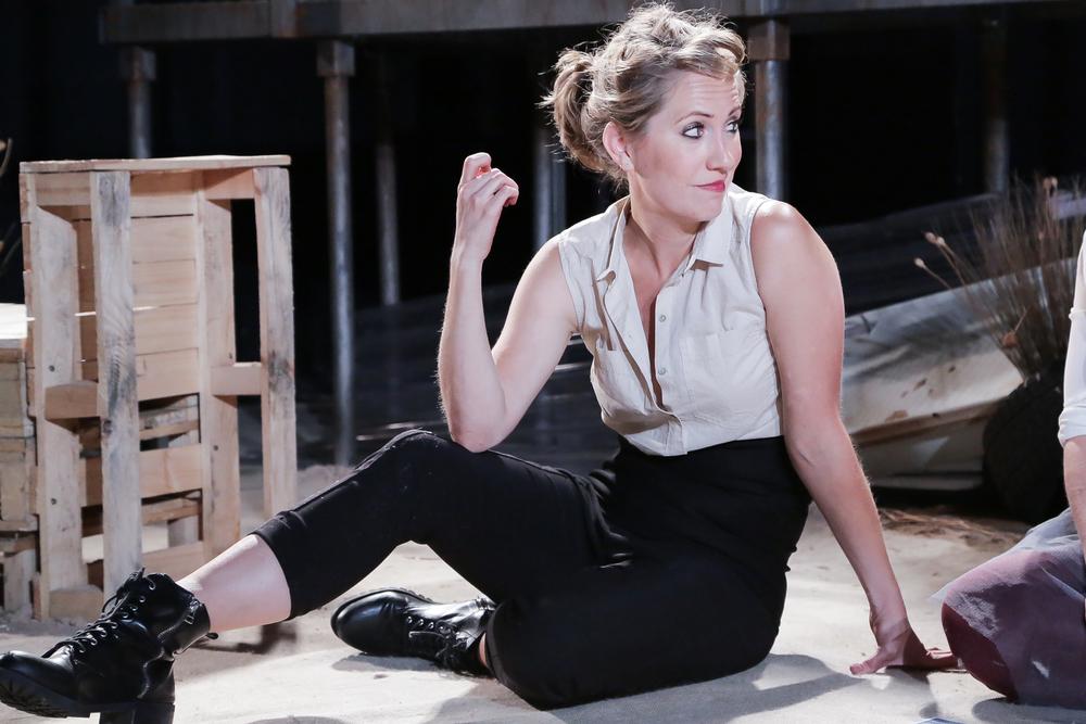 Carmen (OperaUpClose). Flora McIntosh (Carmen). Photo Andreas Greiger.