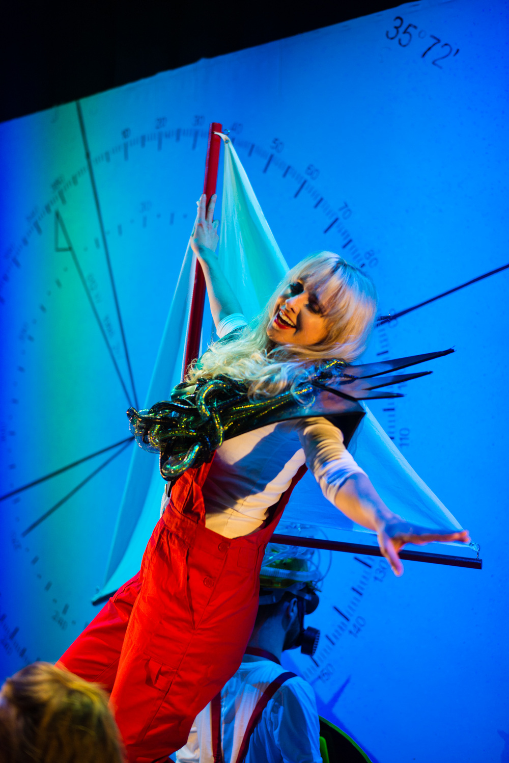 Ulla's Odyssey. OperaUpClose, Kings Place. Pamela Hay. Photo by Christopher Tribble.