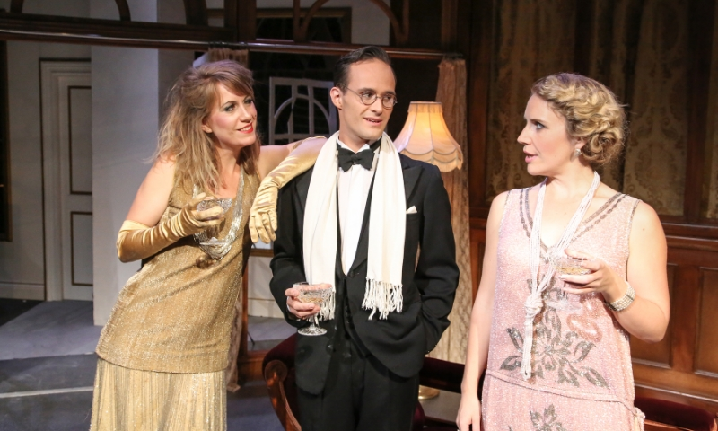 La Traviata (OperaUpClose)Flora McIntosh, Lawrence Olsworth-Peter, Louisa Tee, - photo by Andreas Grieger.jpg