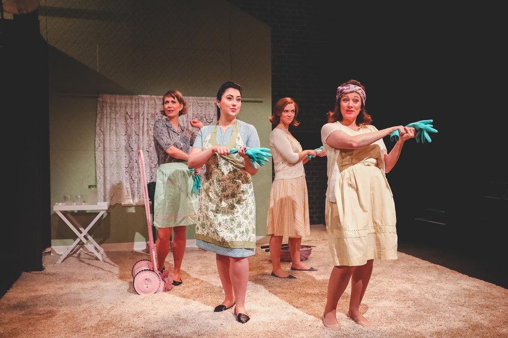 OperaUpClose. (Left) Flora McIntosh, Alexandra Stenson, Caroline Daggett, Kathryn Hannah. By Andreas Grieger..jpg