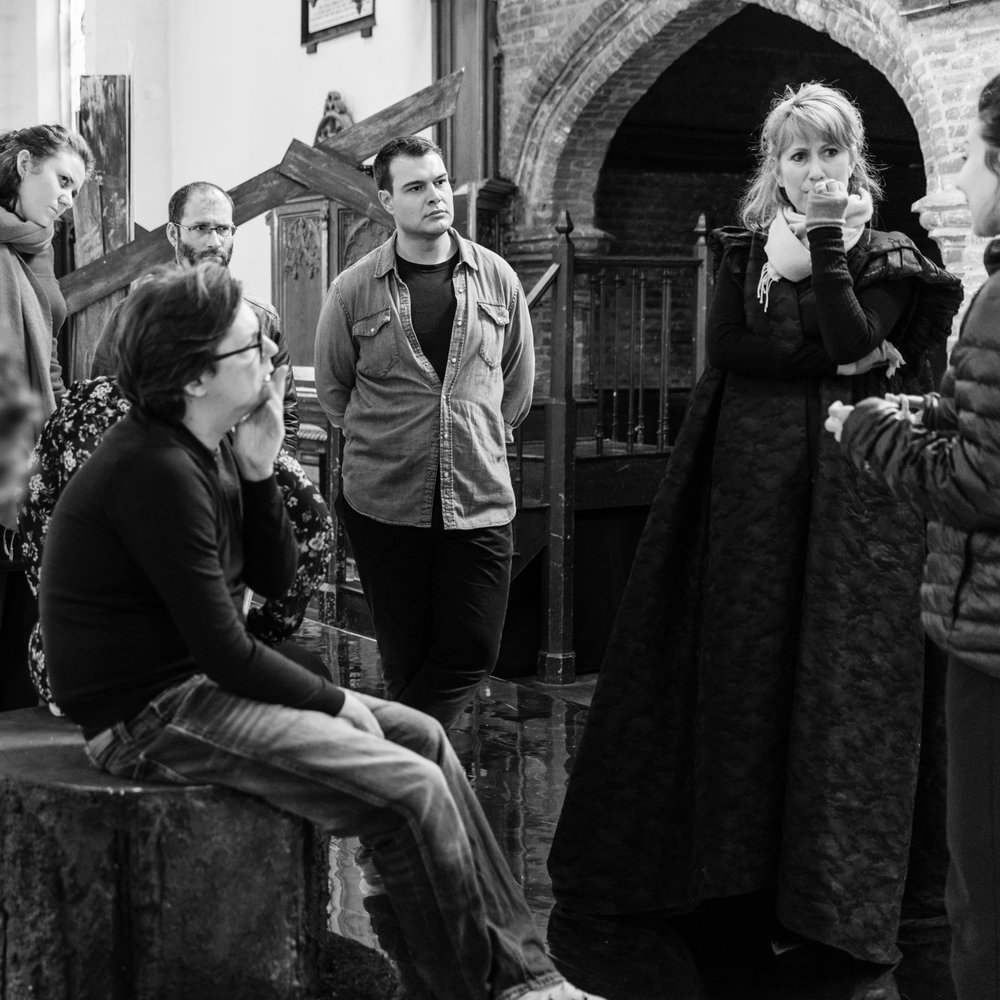 Rehearsals - Mary, Queen of Scots