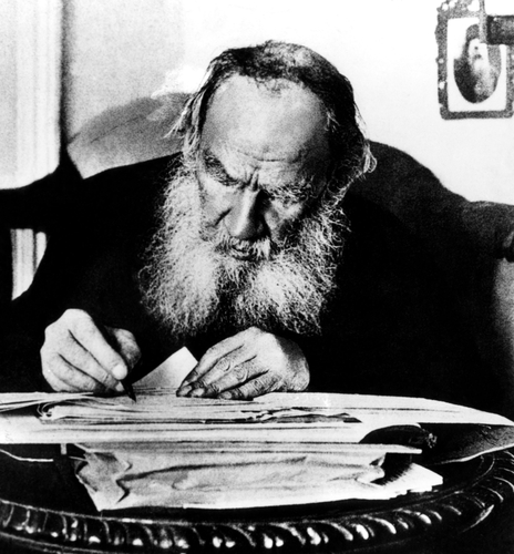 Leo Tolstoy (1828-1910), Russian writer, circa early 1900s. Image ID: 252133777. Copyright: Everett Historical.  www.shutterstock.com