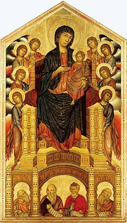 Figure 1: Cimabue, Uffizi Gallery, Florence, Italy (Public Domain)