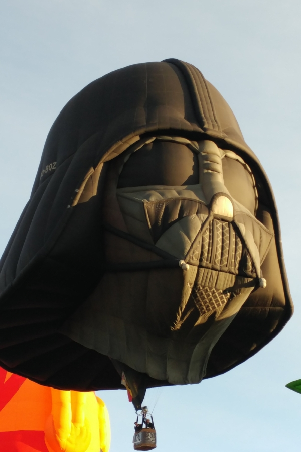 Darth Vader at the Albuquerque International Hot Air Balloon Fiesta. Photo credit: Alissa Simon