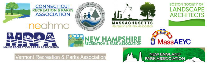 Premier Park & Play's affiliations include recreation and park associations in New England.