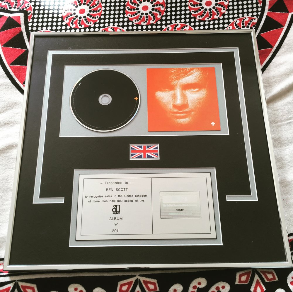 "Gratuitous photos of plaques aside - if there's anyone that embodies the spirit of Self Drive quite so well, it's Ed Sheeran. The lyrics to the song I drummed on, ""You Need Me, I Don't Need You"" are simply a description of his Self Drive."