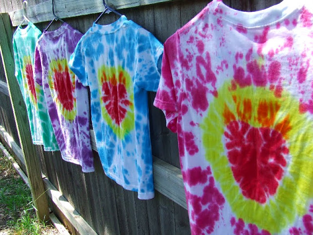 Sacred Heart Tie-Dyed Tees by Motherly Loving