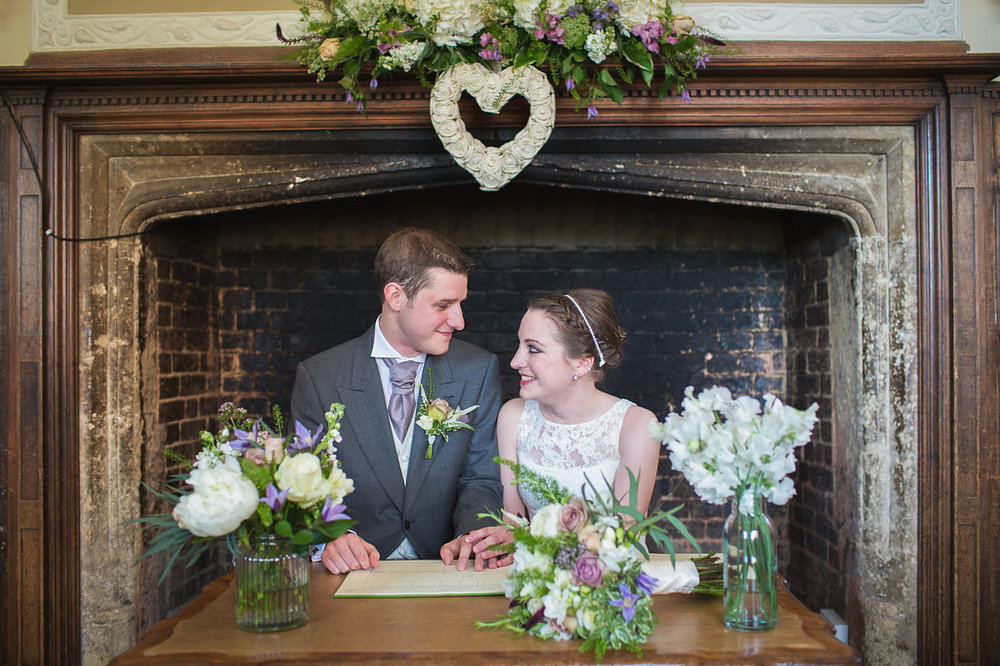 Spring Civil Wedding at Dorton House, Bucks