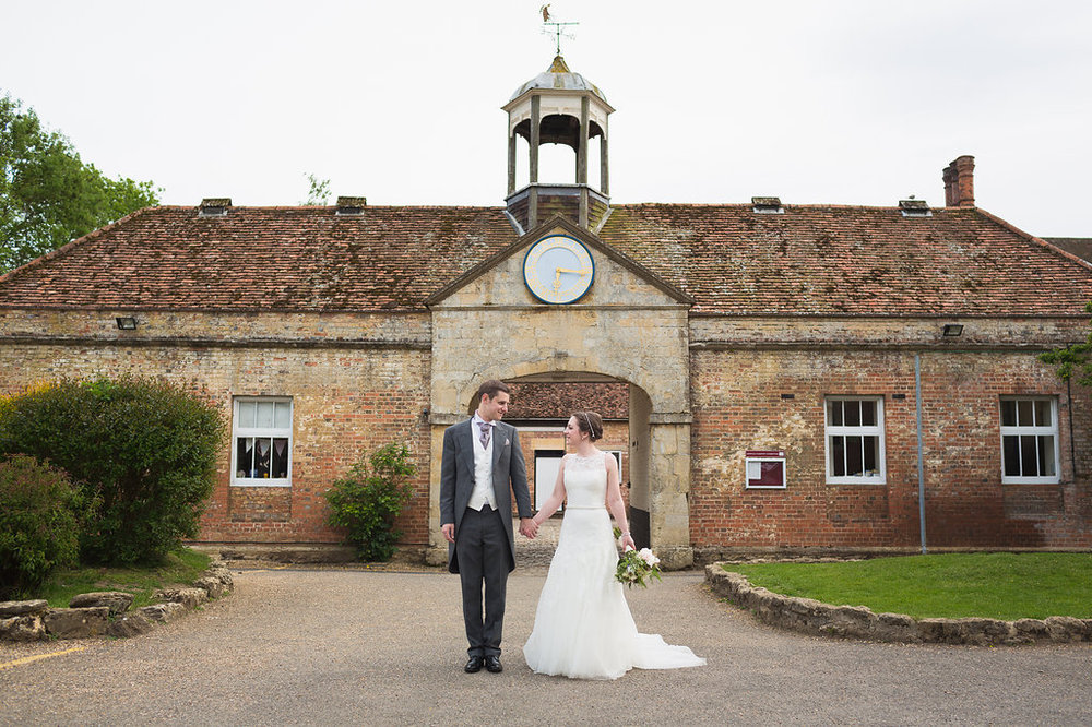 Spring wedding at Dorton House, Bucks