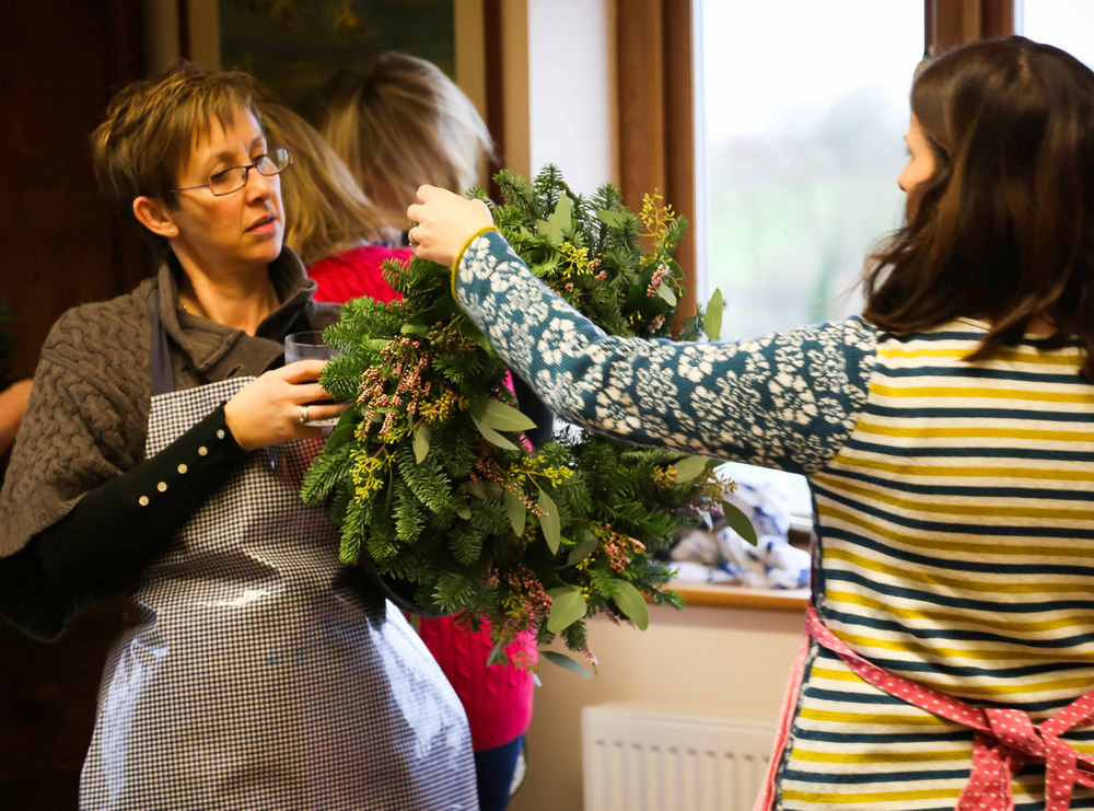 Christmas Wreath Workshop, Bucks
