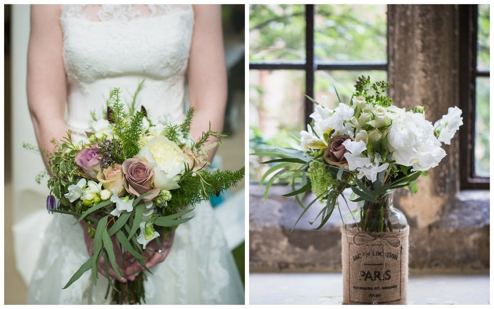 Spring wedding in antique colours at Dorton House, Buckinghamshire