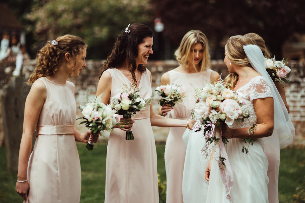 Blush spring wedding in Buckinghamshire