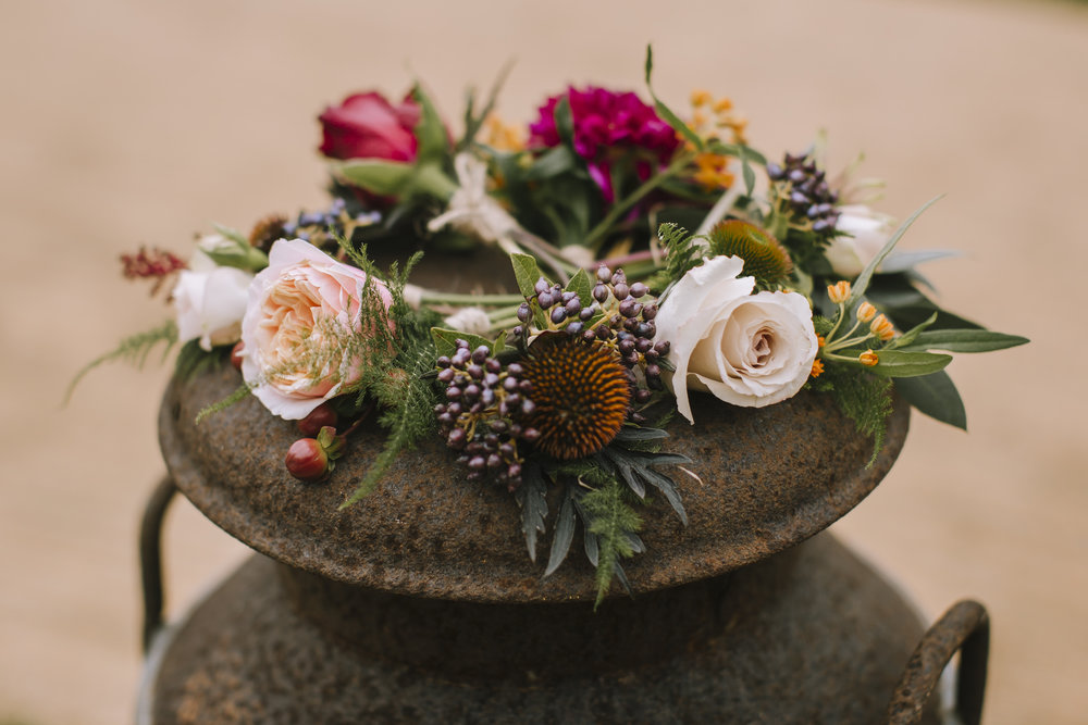 Autumnal buttonholes